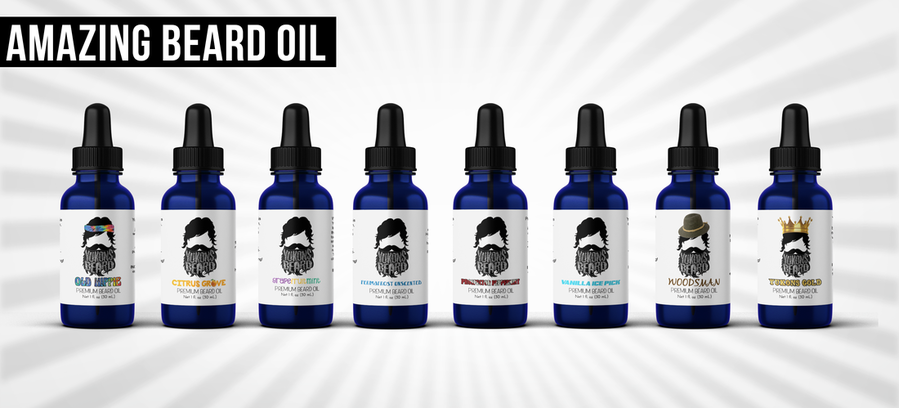 beard oil from all natural ingredients