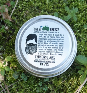 Yukons beard balm works all day
