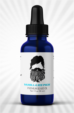 Vanilla Ice Pick beard oil smells amazing